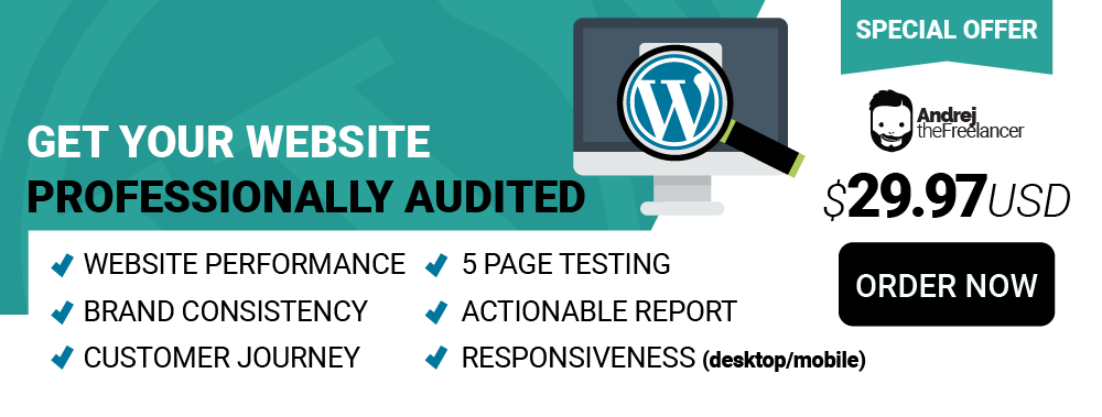 Website Audit Banner
